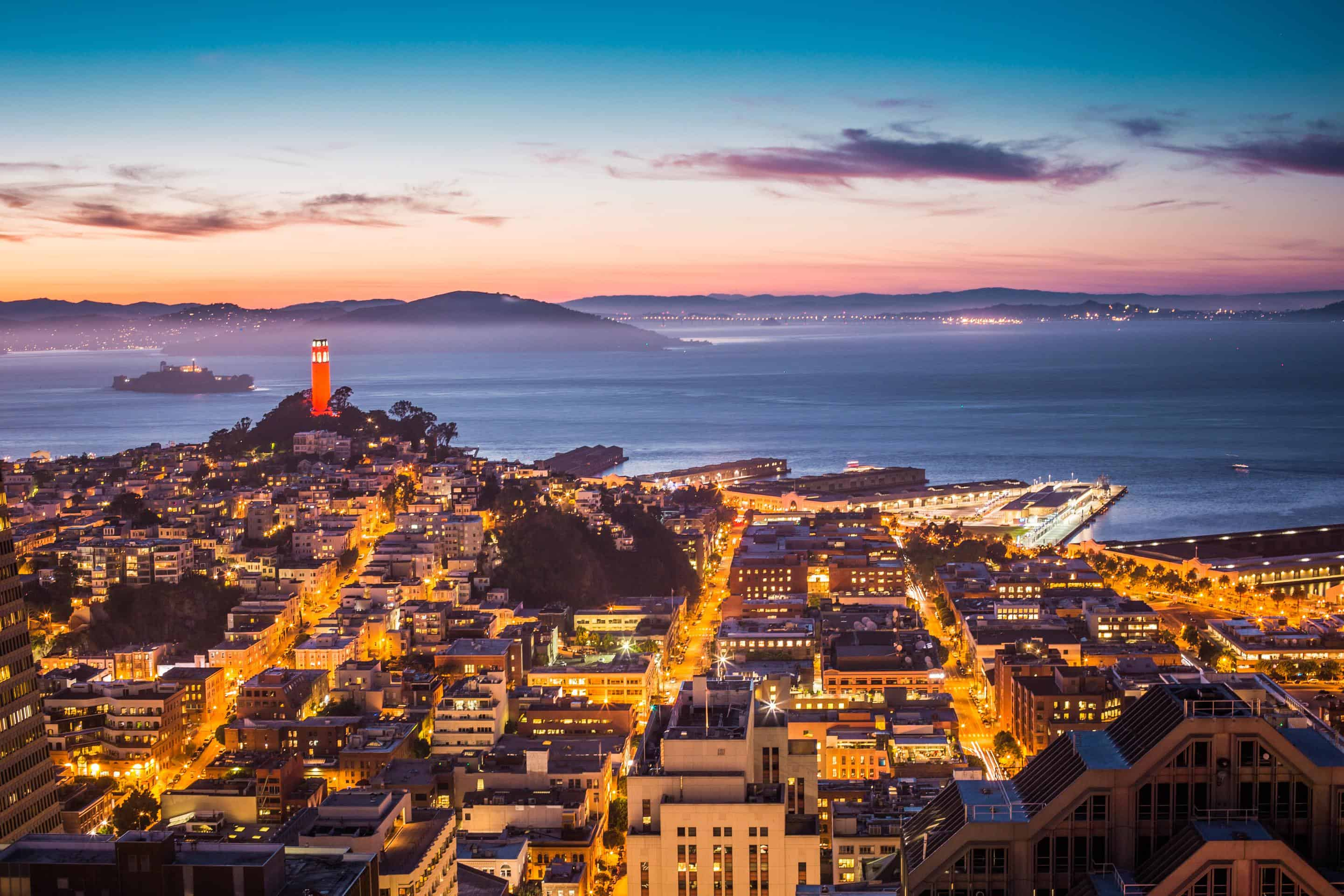 San Francisco Drone Photography